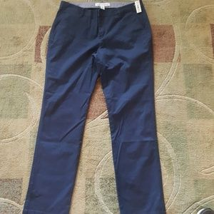 New navy khaki dress uniform pants women size 8